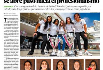 """Las integrantes antofagastinas de las """"Pumitas"""""""