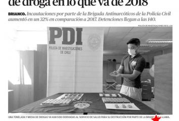 Gracias por el aporte de la PDI a la ciudad de Calama