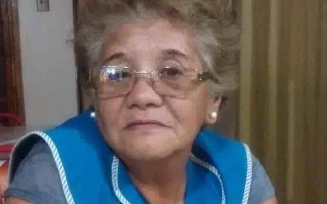Lamentable fallecimiento de María Chávez