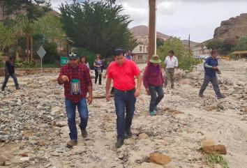Denuncian abandono del sector Alto El Loa tras las lluvias estivales